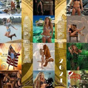"""Andrea """"KGB"""" Lee - 2021 Calendar"""