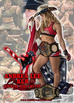 "Andrea ""KGB"" Lee - 24 x 36 Autographed Poster"