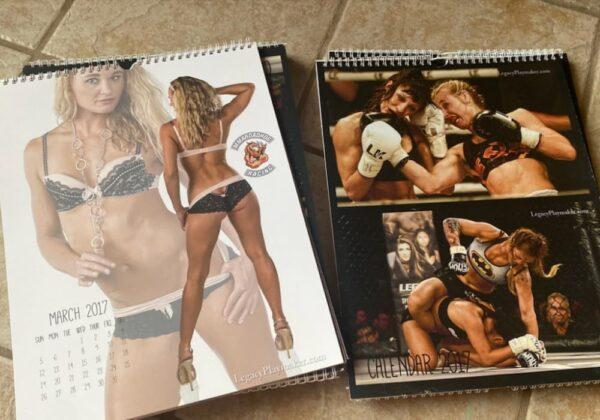 "Andrea ""KGB"" Lee - First Edition Calendar"